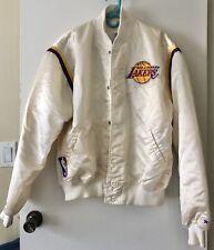 Rare Vintage Los Angeles Lakers NBA Starter Satin Made in USA Mens XLarge Jacket
