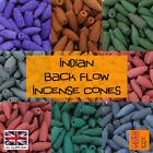 Genuine Indian Back Flow Incense Cones *Great Fragrance Backflow Burner Insence