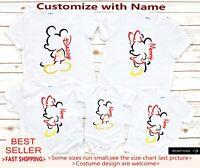 Mickey Silhouette Shirt,Disney Matching Shirts,Disney Cruise Shirts,Family Disne