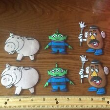 Disney Toy Story BUZZ Lightyear fabric appliques ( style #10)