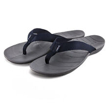 SOLE Men's Balboa Flip Sport Sandal Black/Dark Grey 10