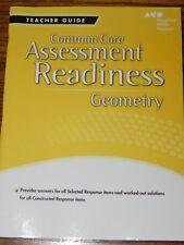 Assessment Readiness Geometry Teacher Guide Common Core Houghton Mifflin Harco..