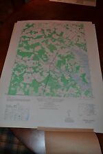 1940's Army (like USGS) topographic map Fairmount  Delaware-Sheet 5961 II NW