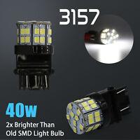 4X LED 6000K White 40W 3157  Turn Signal Parking DRL High Power Light Bulbs
