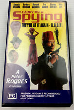 Carry On Spying A Peter Rogers Production VHS Video Cassette Tape PAL PG
