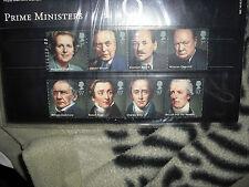 Royal Mail  2014 Prime Ministers presentation   stamp set