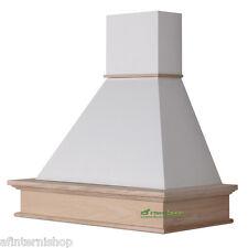 CLASS 90 cappa cucina parete rustica legno mot.Faber fascione grezzo CL90-FGBE52