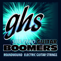 GHS CR-GBCL Sub Zero Boomers Custom Light Electric Guitar Strings 09-46