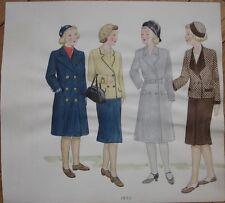 Original Art/Hand-Painted Fashion/Clothing Painting: 1933 - 9