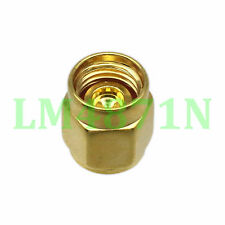 Connector SMA RP.SMA male Protective Dust cap for RP.SMA SMA female gold plated