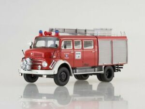 """Mercedes Benz L911 """"Metz"""" B/36 Feuerwehr 1969 NEO96810 1:43"""