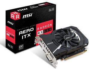 *BRAND NEW* MSI Gaming Radeon RX 550 AERO ITX 4G Graphics Card