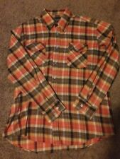 Tarleton Men's Plaid Shirt Medium Pink Gray Beige