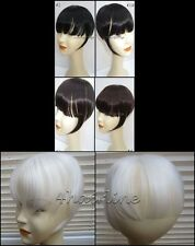 Bangs Adult Short Wigs & Hairpieces