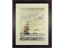 ** SALE ** 'Off Porthmadog' by Alan Kirkpatrick, original watercolour signed.