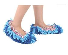 G2PLUS Microfiber Dust Mop Shoes Comfy Slippers Cloths Funny Dusters for Drying