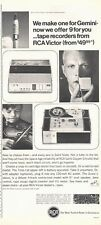 1966 RCA Victor 4-Track Reel to Reel Tape Player Recorder  PRINT AD
