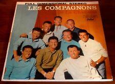 Les Compagnons  De La Chanson  1965  Capitol ST10227   French  Pop Vinyl LP  VG+