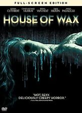 House of Wax (DVD, 2005) Horro Movie