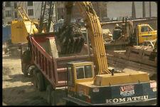 237007 pelle mécanique remplissage camion benne A4 imprimé photo