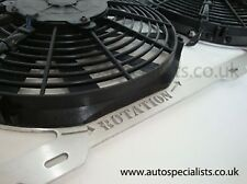 Ford Cosworth Airtec Twin 11 Inch Fan Kit ATFANFO2