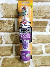 BRAND NEW ARM & HAMMER SPINBRUSH Pro +DUAL ACTION SOFT