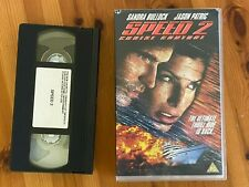 Speed 2 Cruise Control Sandra Bullock  BIG CASE RARE VHS Video SHOP PROMO