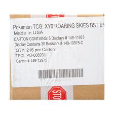 Pokemon XY Roaring Skies Booster 6-Box Case