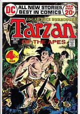 TARZAN #210 (DC, 1972): Joe Kubert art / 4th DC issue  --  VG