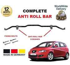 FOR SEAT ALTEA 5P1 ALL MODELS 2004--> ON COMPLETE ANTI ROLL BAR + D BUSHES