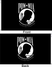 Pow Mia Double Sided Seal 5x8 ft Military Flag Outdoor Nylon Made in Usa