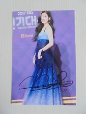 Suzy Bae Miss A 4x6 Photo Korean Actress KPOP auto signed USA Seller SALE Y7