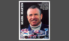 Mark Martin COMMITMENT Classic NASCAR Auto Racing Motivational POSTER