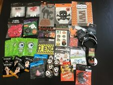 Lot New HALLOWEEN PARTY Props Favors Door Cover Rats Tattoos Blood Bags Caution