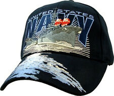 U.S. Navy Destroyer Hat / USN Dark Navy Baseball Cap 5879