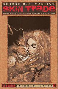 Avatar Press Skin Trade #3 of 4 (Skinned Cover) 2013 Very Fine