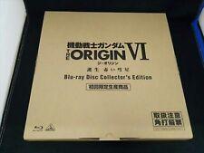 Mobile Suit Gundam The Origins VI 6 Blu-Ray Collector Édition Limitée Très Bon