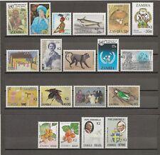 ZAMBIA 1991 btw SG 656/78 MNH Cat £900