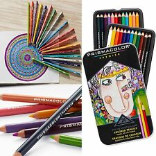 Colored Pencils Set 24  Pack Lot Soft Core Premier Prismacolor Art Supplies
