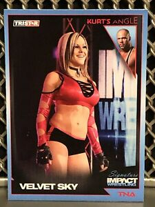 2011 Velvet Sky TNA WWE Wrestling Card #15 Beautiful People Hot Sexy Diva ROH