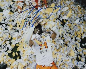 Travis Etienne Signed Clemson Tigers 8x10 Photo (Beckett COA)