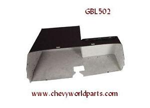 64-65 CHEVELLE EL CAMINO MALIBU GLOVE BOX LINER W/AIR