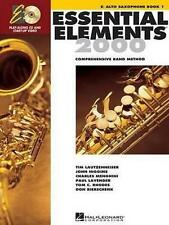 Essential Elements for Band - Book 1 With EEI EB Alto Saxophone 9780634003172