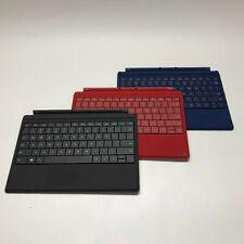 Original Microsoft Surface 3 Model 1654 Type Cover Keyboard - Black/Red/Blue