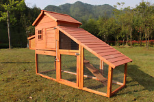 Lovupet 82'' Chicken Coop Poultry Hen House Rabbit Hutch Cage-XLarge 0315