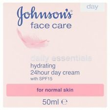 JOHNSONS FACE CARE DAILY ESSENTIALS HYDRATING 24 HOUR DAY CREAM SPF15 50ML