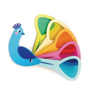 Tender Leaf - Peacock Colours