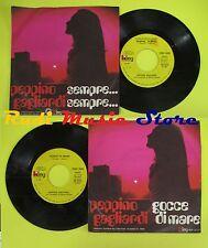 LP 45 7'' PEPPINO GAGLIARDI Gocce di mare Sempre 1971 italy KING no cd mc dvd*