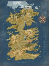 Game of Thrones Cersei's Westeros Map 27-Inch Puzzle