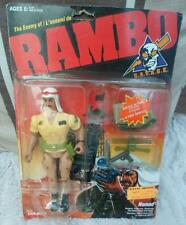 Rambo caleco vintage 1986 Nomad STALLONE figure bataille action force la liberté